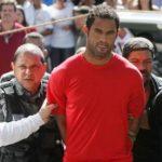 Goleiro Bruno de volta a cadeia