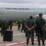 Últimas tropas brasileiras embarcam para Missão de Paz no Haiti