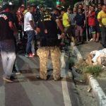 Homem em moto com a namorada é executado com 5 tiros no Nova Esperança