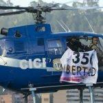 Helicóptero dispara GRANADA contra prédio do Supremo