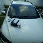 Policial da PM é preso com carro roubado em Lauro de Freitas