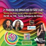 Grande festa da  Parada do Orgulho LGBT  em Itinga