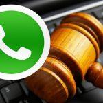 Audiências e notificações judiciais  já podem ser julgadas através do WhatsApp
