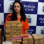 Feira de Santana: Mulher escondia 83 KG maconha embaixo do berço