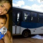 Video: Mãe e filho morrem na hora ao serem atropelados por ônibus escolar