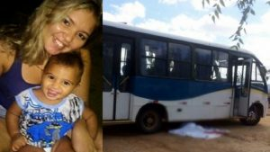 Mãe e filho morrem na hora ao serem atropelados