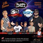 Banda SAMBA Q´EU VÔ se apresenta na Villa Bahiana neste sábado