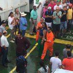 Veja vídeo: Mulher se joga de ferry durante travessia