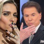 """Resposta na ponta da língua: Chamada de """"magrela"""", Fernanda Lima responde Silvio Santos """"Deve respeito às mulheres"""""""