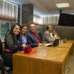 Prefeita Moema Gramacho e a Deputada Mirela Macedo participam da Comissão de Divisão Territorial
