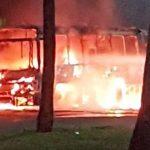 STIEP: Ônibus incendiado e SSP reforça policiamento na área