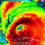 Segundo Meteorologia, Brasil terá Furacão Irma mais forte que nos EUA