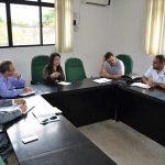 Prefeita e Secretario de Saúde se reúne com sindicato de Agentes de Saúde-Sindacs