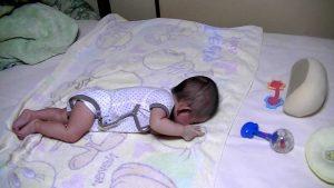 Uma mãe trocou o filho de apenas 5 meses