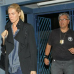 Apresentadora Ana Hickmann presta depoimento sobre atentado em hotel