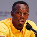 Jamaicano Usain Bolt planeja ser jogador se futebol em 2018