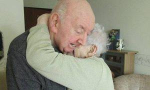 Uma mãe de 98 anos