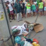 Vídeo: Homem é encontrado morto em ponto de lixo no bairro do Alto do Cabrito