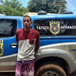 Traficante é preso na Lagoa da Base pela guarnição da 52CIPM
