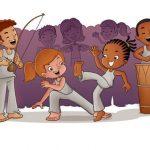 Projeto Q'Dendê Capoeira,Arte e Cultura realiza festa do Dia da Criança em Itinga