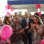 Veja vídeo: Deputada Mirela apoia mais uma ação da saúde da mulher em Lauro de Freitas