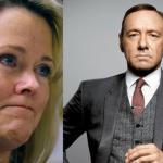 Ex-escrava da TV acusa Kevin Spacey de abusar sexualmente do seu filho