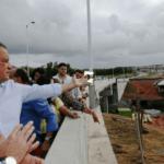 Liberado para tráfego o novo viaduto de Lauro de Freitas