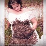 Mulher GRÁVIDA tira foto com 20 mil abelhas na barriga e bebê nasce morto