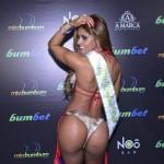 Veja as fotos da vencedora do Miss Bumbum 2017; mulher jambo baiana também concorreu