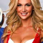 Embaixadora da Copa do Mundo tira o fôlego dos torcedores! Fotos