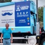 Vídeo: Secretaria de Saúde lança campanha Novembro Azul contra o câncer de próstata