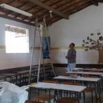 Secretaria de Educação de Lauro de Freitas realiza serviço de manutenção na Escola Paulo Freire em Itinga