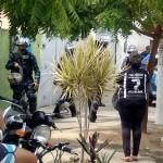 Vídeo: Homens da Guarda de Salvador fortemente armados invadem terras em Lauro de Freitas