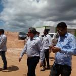 Secretario de Saúde visita área onde será construido o Hospital Metropolitano em Lauro de Freitas