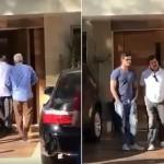 Veja vídeo: Silvio Santos bate a porta na cara de Carlinhos Aguiar
