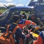Acidente na BR-324 deixa sete pessoas feridas; Graer resgata duas