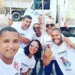 Ativistas do Movimento Territorial expulsam veículo da Limpurb em Lauro de Freitas