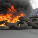 Vídeo: Grupo realiza protesto no Cají após morte de dois homens nesta quinta-feira (9)