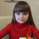 Menina Russa é chamada de 'A MAIS LINDA DO MUNDO'