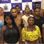 Dez pessoas presas em Centro de Distribuição de drogas em ITAPUÃ