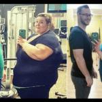Esse Casal emagreceu 180 quilos e antes e depois viraliza no Instagram
