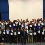 Certificados do curso de Gestão de Condomínio foram entregues nessa quarta (20) no Centro Panamericano de Judô