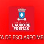 Prefeitura de Lauro de Freitas esclarece problemas no pagamento do 13º de servidores