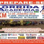 Corrida das Academias será 14 de janeiro 2018 ( inscrições aberta a partir do dia 05/01)