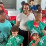 Confraternização de final de ano leva alegria e diversão ao CAPS Infantil em Lauro de Freitas