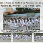 Associação Dourival Arte de Karatê-Do realizou a Iª Caminhada de Karatê-Do em Vida Nova