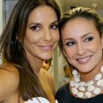 De biquíni, Claudia Leitte recebe elogio de Ivete Sangalo em foto