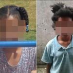 Menina de 9 anos tem cabelo crespo cortado à força por parentes; mãe denuncia à polícia