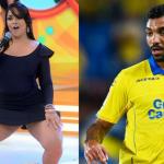 """A """"Mulher Melancia"""" fica noiva de jogador de futebol brasileiro que atua na Espanha"""