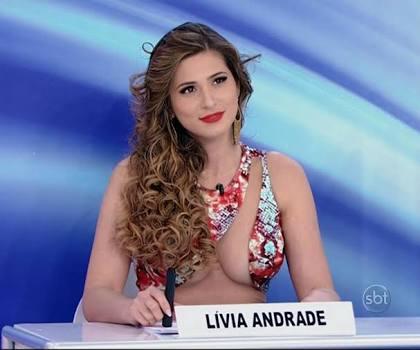 SBT: Lívia Andrade
